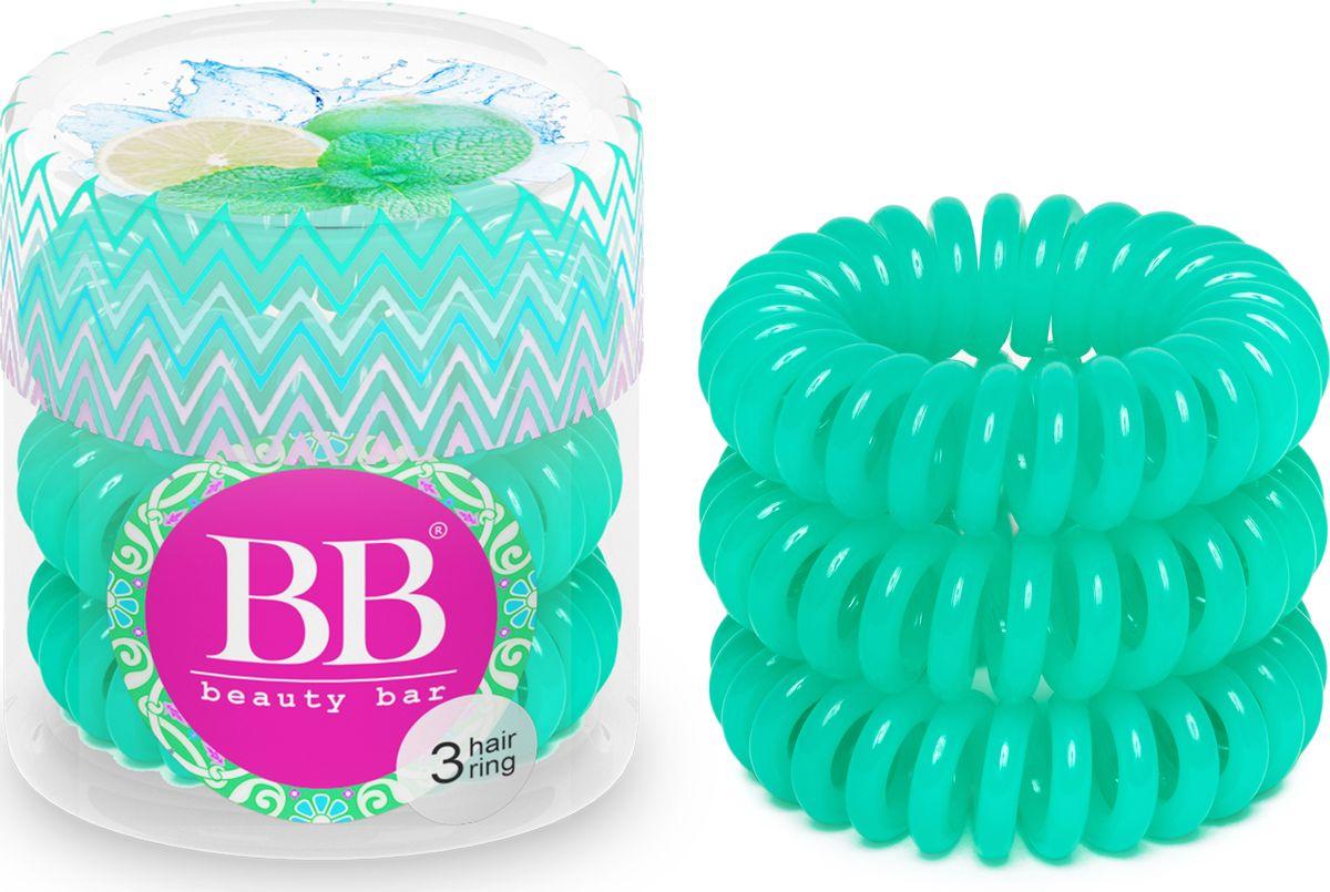 Резинка для волос Beauty Bar, цвет: салатовый резинка спиралька для волос