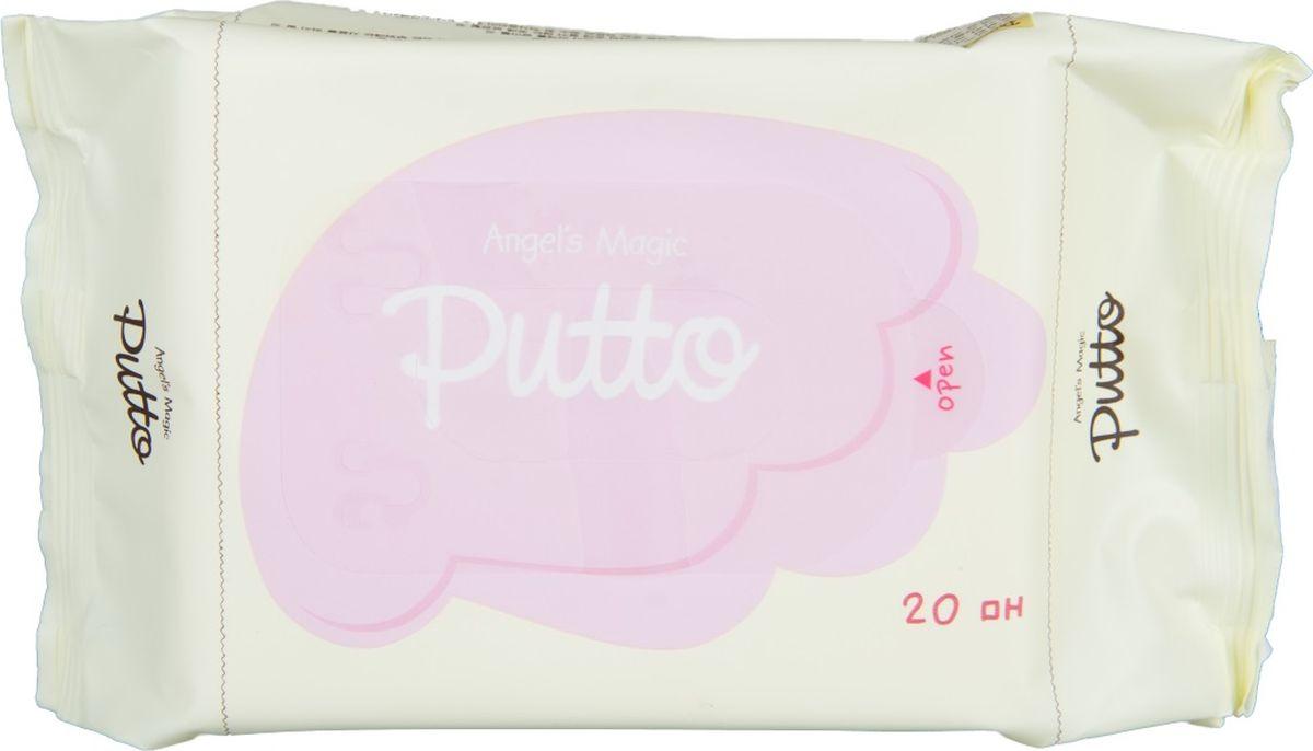 Putto Secret Салфетки детские влажные увлажняющие, 20 шт77G086202Удобная мягкая упаковка салфеток с пластиковой защелкой.Детские влажные салфетки содержат защитный компонент NHEB-05 (запатентованная формула для чувствительной кожи ПАТЕНТ № 10 -2008 - 0032798), В-глюкан и церамиды, обладают низким уровнем раздражающих факторов.Хорошо очищают, увлажняют сухую и чувствительную кожу, устраняют зуд.Влажные салфетки содержат компонент, способствующий заживлению кожных рубцов. Салфетки имеют очищающий, успокаивающий, увлажняющий эффекты для сухой, чувствительной и проблемной кожи. NHEB - 05 ( Natural Herb Extract Blend -05) Экстракты таких лекарственных трав как экстракт хауттюйнии сердцевидной, экстракт азиатского подорожника, экстракт будры плющевидной, экстракт вяза, экстракт шелковицы оказывают успокаивающее действие для сухой, чувствительной кожи, устраняют зуд, а также увлажняют и питают детскую чувствительную кожу.ЦЕРАМИДЫ - важнейший липидный компонент клеточной мембраны. Являются мощным защитным барьером для кожи, восстанавливают липиды кожи. В наибольшей степени церамиды предотвращают потерю влаги предотвращают сухость и шелушение.БЕТА-ГЛЮКАН - природный компонент входящий в состав детских салфеток, который обеспечивает обильное увлажнение.Почему стоит купить салфетки Putto для своего ребенка?не требуется смывание водойнатуральные компонентыбез спиртабез воды (Композиция экстрактов трав вместо воды, увлажнение сохраняется в течение длительного времени)без консервантовбез красителейбез отдушеквсе компоненты протестированы и сводят к минимуму аллергические реакции. влажных салфеток:Для ежедневной гигиены очень сухой , чувствительной и склонной к атопическому дерматиту кожи. Для новорожденных , младенцев и детей.