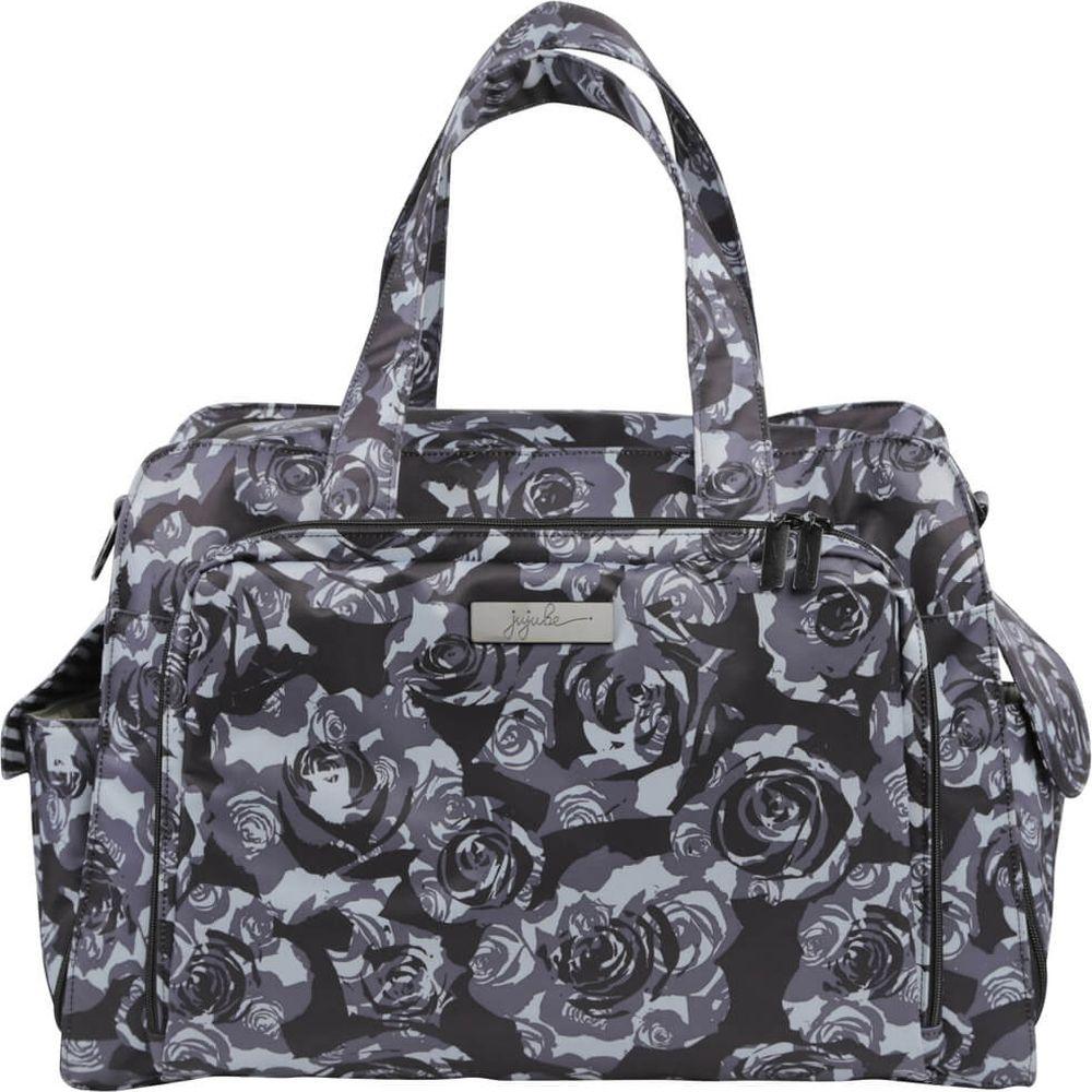 Ju-Ju-Be Дорожная сумка для мамы Be Prepared black petals -  Сумки для мам