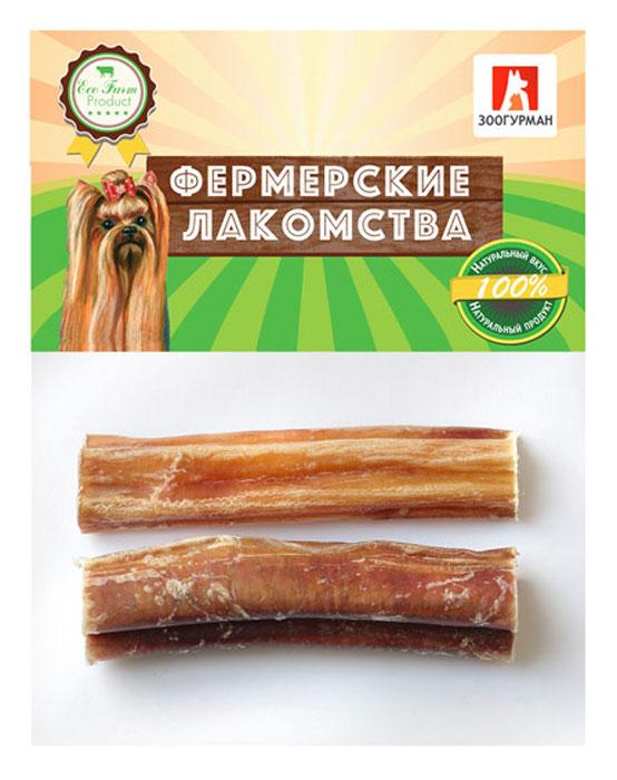 Лакомство для собак Фермерские лакомства Корень бычий, 2 шт4186Натуральное сушеное лакомство для собак. Для ежедневного кормления, в качестве добавки к основному корму