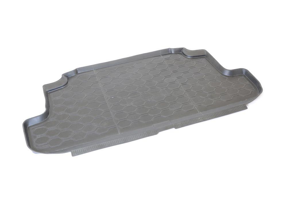 Коврик багажника Rival, для Lada 4x4 (3D) 2009-16005001Автомобильный коврик багажника RivalКоврик багажника позволяет надежно защитить и сохранить от грязи багажный отсек вашего автомобиля на протяжении всего срока эксплуатации, полностью повторяют геометрию багажника.- Высокий борт специальной конструкции препятствует попаданию разлившейся жидкости и грязи на внутреннюю отделку.- Произведены из первичных материалов, в результате чего отсутствует неприятный запах в салоне автомобиля.- Рисунок обеспечивает противоскользящую поверхность, благодаря которой перевозимые предметы не перекатываются в багажном отделении, а остаются на своих местах.- Высокая эластичность, можно беспрепятственно эксплуатировать при температуре от -45 ?C до +45 ?C.- Изготовлены из высококачественного и экологичного материала, не подверженного воздействию кислот, щелочей и нефтепродуктов. Уважаемые клиенты!Обращаем ваше внимание, что коврик имеет форму соответствующую модели данного автомобиля. Фото служит для визуального восприятия товара.