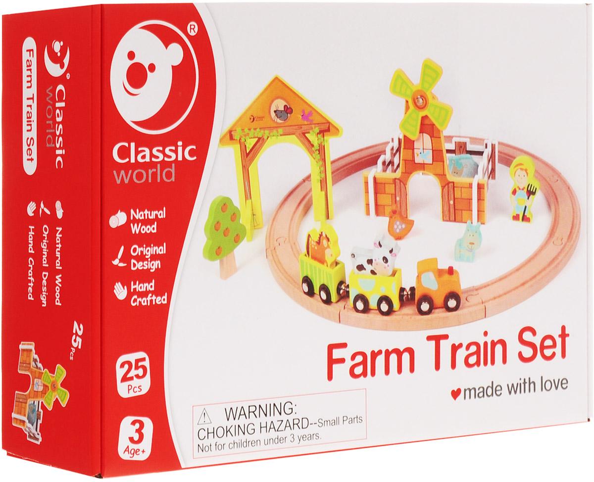 Classic World Деревянная железная дорога Каникулы на ферме - Железные дороги