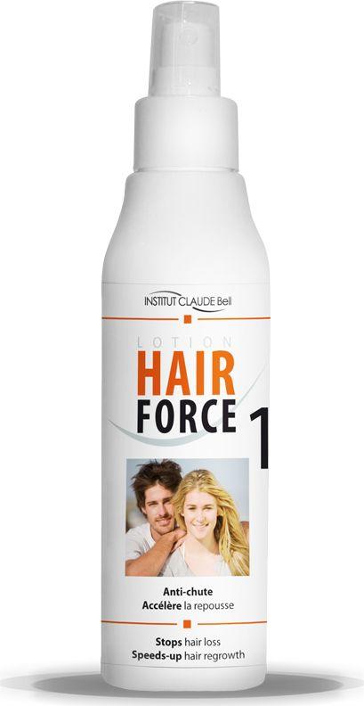 Hair Force One Лосьон против выпадения волос, 150 млL150HFСредства Hair Force One - это косметические средства против выпадения волос. Изготовлены во Франции. Не являются лекарственными средствами и не содержат гормонов. Комплексное применение средств Hair Force One позволяет сократить выпадение волос, ускорить рост волос, увеличить объем волос, уменьшить себорею.