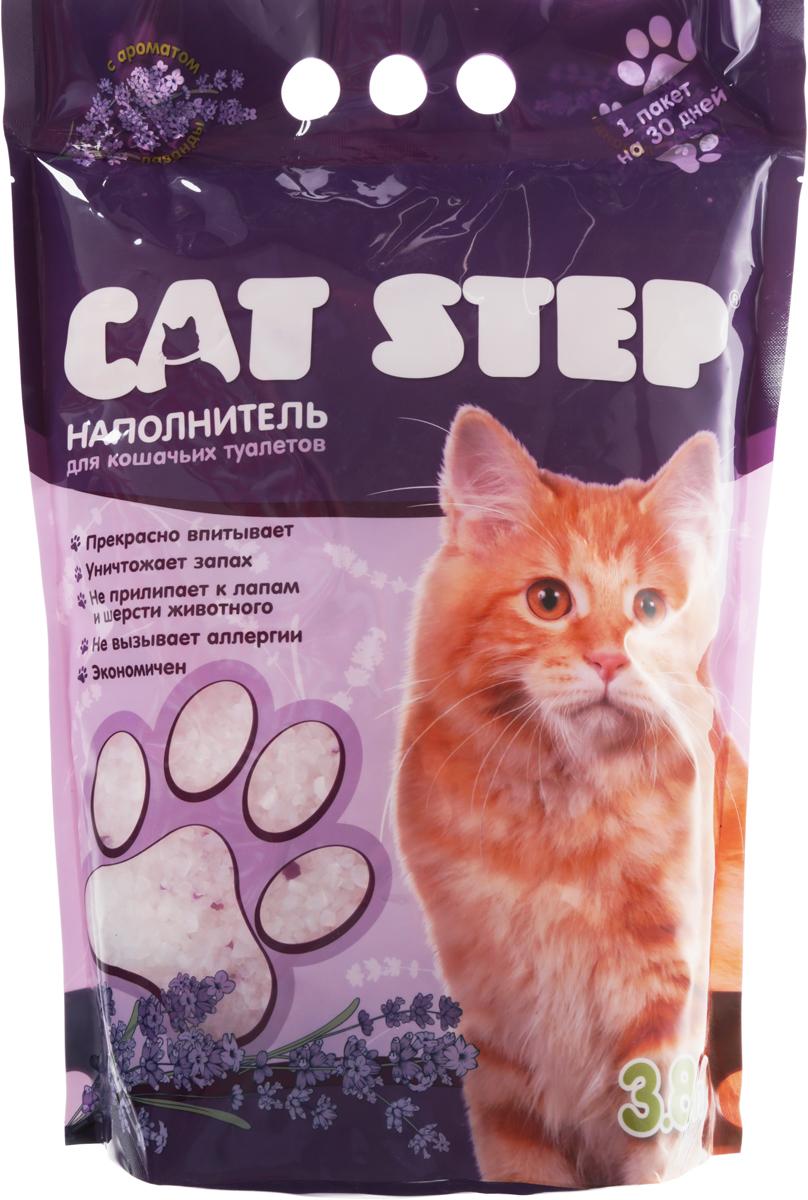 Наполнитель для кошачьих туалетов Cat Step, силикагелевый, с ароматом лаванды, 3,8 л20363009Впитывающий наполнитель Cat Step с ароматом лаванды изготовлениз силикагеля, который мгновенно впитываетжидкость и способствует уничтожению запахов.Как только влага коснется поверхности гранулсиликагеля, множество микроскопических порбуквально поглощают ее. А сами гранулысиликагеля остаются при этом сухими наповерхности и не прилипают к шерсти и лапкамкошки.Впитывающая способность наполнителя Cat Step настолько высока, что одного пакета хватает нацелый месяц!Объем: 3,8 л.
