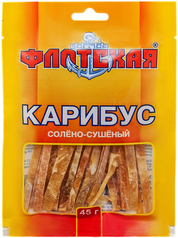 Флотская карибус солёно-сушёный, 45 г335Флотская - правильная закуска к пенному!
