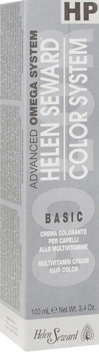 Helen Seward HP Color Натуральные оттенки теплые Черный, 100 млC10Перманентная крем-краска — инновационная трехвалентная формула с мультивитаминами В5 и С для стойкого окрашивания, обеспечивает покрытие седины, блеск и мягкость волос.