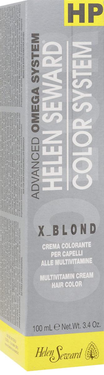 Helen Seward X_Blond Очень светлый натуральный блондин, 100 млC100Перманентная крем-краска — инновационная трехвалентная формула с мультивитаминами В5 и С для стойкого окрашивания, обеспечивает покрытие седины, блеск и мягкость волос.
