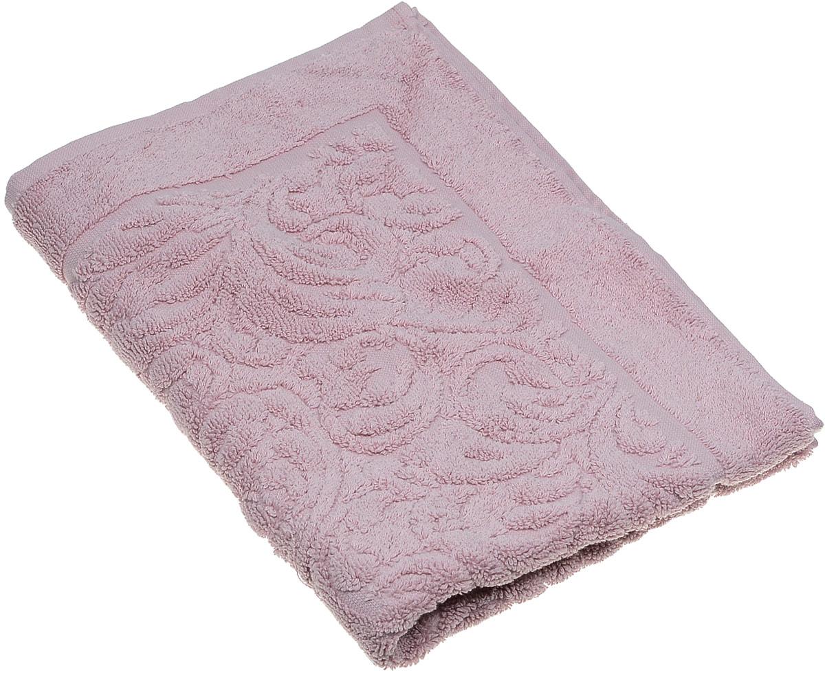 Коврик для ванной Karna Gonca. Esra, цвет: пепельная роза, 50 х 70 см2026/CHAR003Коврик-полотенце для ванной Karna выполнен из высококачественного хлопкового волокна. Имеет рельефный рисунок. Высочайшее качество материала гарантирует безопасность для всех членов семьи. Коврик не аллергенен, имеет высокую воздухопроницаемость и долгий срок использования ткани.Размер: 50 х 70 см.