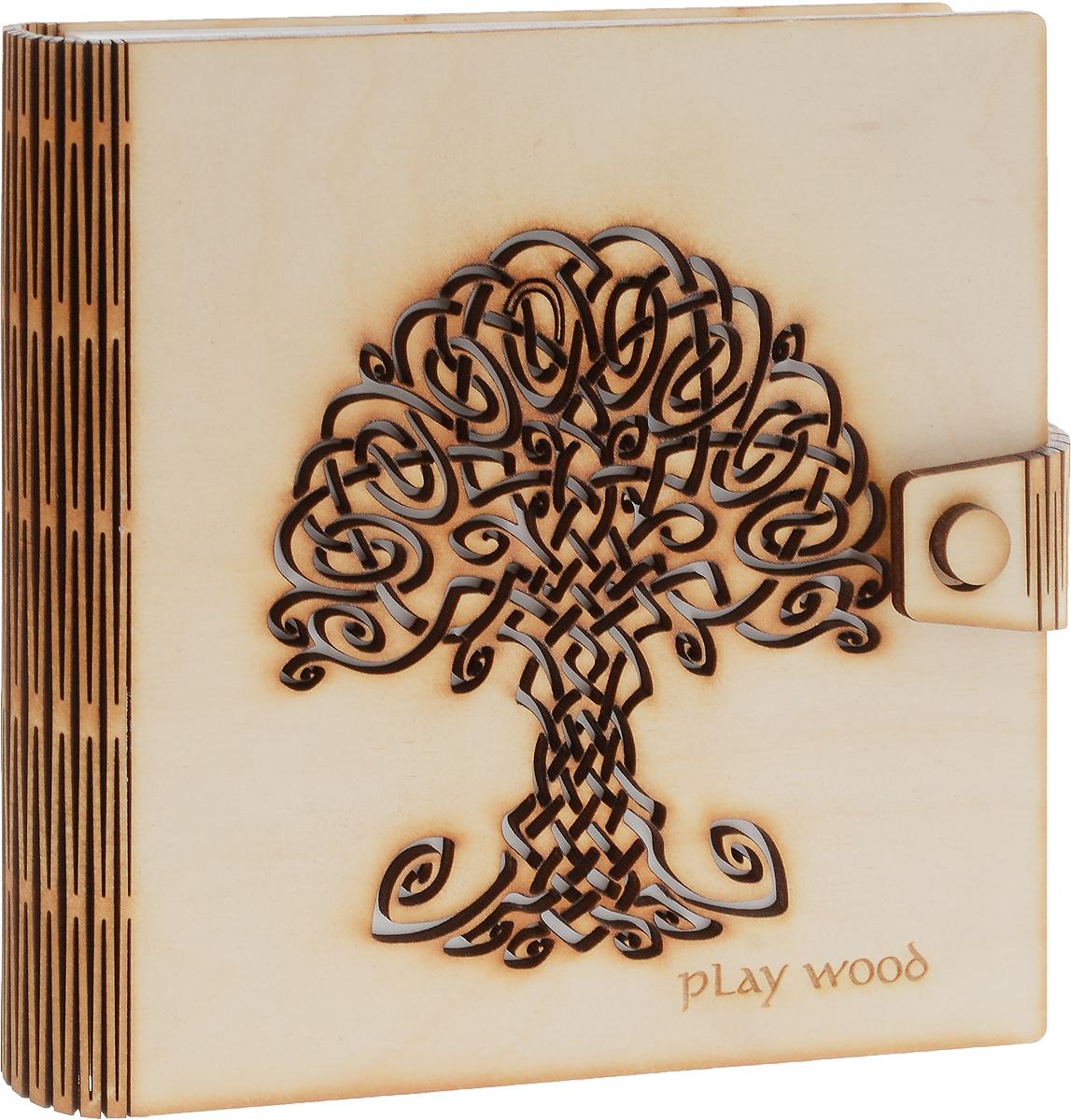 Фолиант Блокнот 170 листов БЛФ-21БЛФ-21Обложка блокнота Фолиант выполнена из экологически чистой фанеры, приятной на ощупь, с запахом натурального дерева. Обложку можно дооформить как угодно: раскрасить рисунок, затонировать, залакировать, нанести или выжечь дополнительный узор.Внутренний блок блокнота состоит из 170 листов белой офсетной бумаги без разметки.