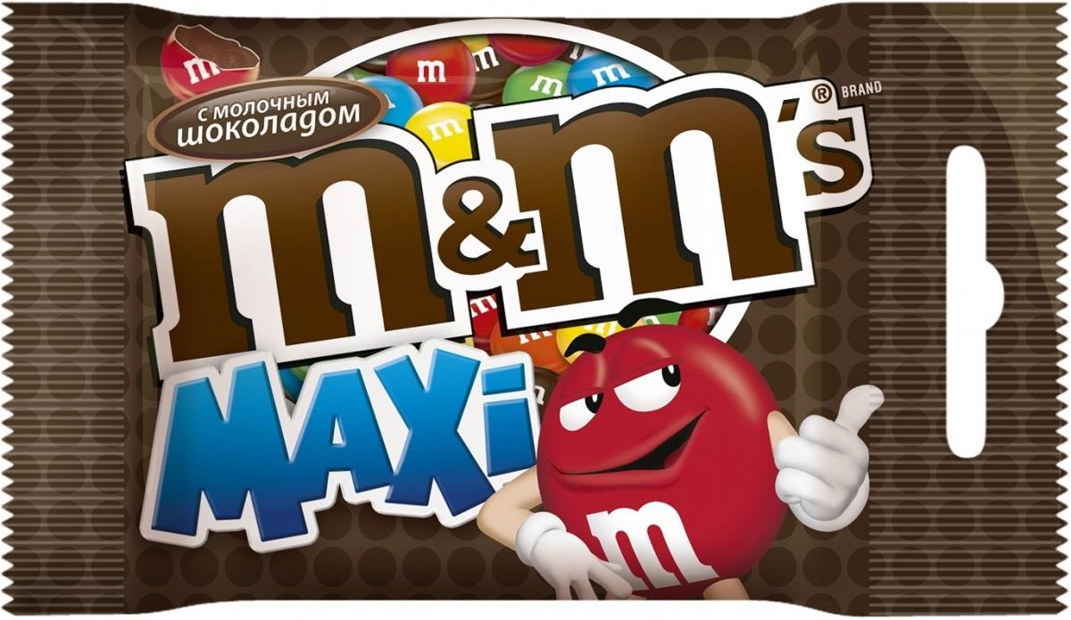 M&Ms Maxi драже с молочным шоколадом, 70 г79003059Драже M&Ms с молочным шоколадом - это больше веселых моментов для тебя и твоих друзей! Разноцветные драже можно съесть самому или разделить с друзьями. В любом случае, вкус отличного молочного шоколада подарит удовольствие и радость.