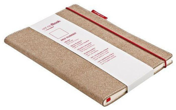 Sense Book Блокнот Red Rubber S 136 листов -