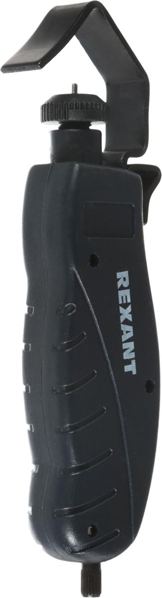 Инструмент для продольной зачистки кабеля Rexant, 25 - 36 мм, HT-335, TL-33512-4053Инструмент для продольной зачистки кабеля HT-335 (TL-335) REXANT предназначен для продольной зачистки кабеля диаметром в диапазоне от 25.0 - 36.0 мм. Именно продольная зачистка позволит максимально быстро и эффективно зачистить кабель. При работе с этим инструментом есть возможность снять оболочку в любом месте подавляющего большинства распространенных кабелей с диаметром от 25 до 36 мм. Загнутое лезвие позволит с легкостью удалить отрезанную оболочку. Удобная ручка обеспечит максимально эффективное использование инструмента, нагрузка на руку будет сведена к минимуму.