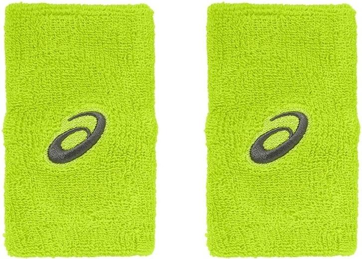 Напульсники Asics Asics Terry Double Wide Wristband, цвет: зеленый. Размер универсальный claudio tonello брюки капри