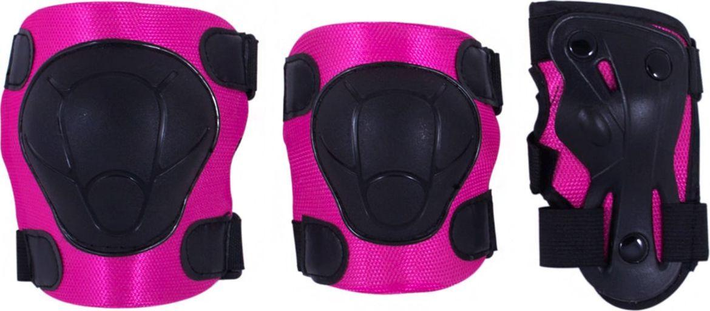 Комплект защиты Ridex Armor, цвет: розовый. Размер MУТ-00008175Комплект защиты Armor - это комплект защиты на локти, колени и запястье. Плотный внутренний материал. Удобные велькро липучки. Крепкая пластиковая накладка для защиты суставов.Технические характеристики:Внешний материал: ПВХВнутренний материал: тканьРазмер: S, M, LЦвет: розовый, черныйПроизводство: КНРОсобенности: имеются регулируемые ремни для застегивания
