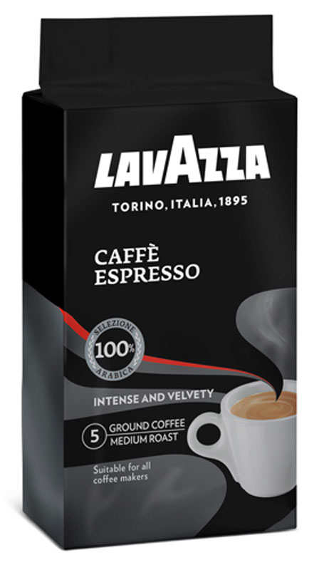 Lavazza Caffe Espresso кофе молотый, 250 г (в/у)1880Lavazza Caffe Espresso изготовлен из стопроцентной арабики высшего сорта, завезенной из Центральной Америки и Африки. Кофе обладает крепким,насыщенным вкусом и пряным ароматом.Уважаемые клиенты! Обращаем ваше внимание на то, что упаковка может иметь несколько видов дизайна. Поставка осуществляется в зависимости от наличия на складе.