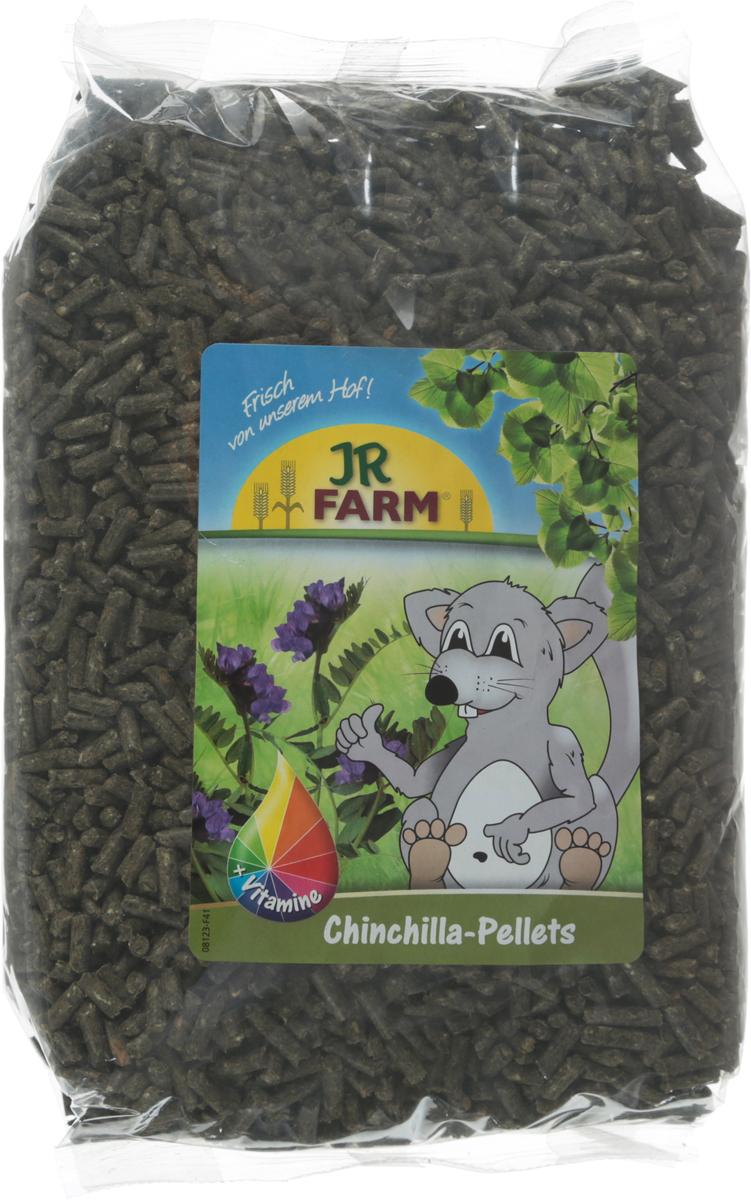 Корм для шиншилл JR Farm, 1 кг37766Гранулы для шиншилл JR Farm - это полностью сбалансированный полноценный корм со всеми необходимыми питательными веществами и очень высоким содержанием клетчатки для здорового пищеварения.