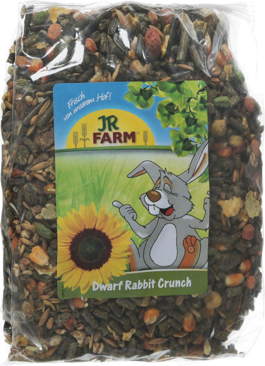 Корм для карликовых кроликов JR Farm Crunch, 1 кг41862Корм для карликовых кроликов JR Farm Crunch - это сбалансированное питание, которое включает необходимые витамины и минералы для полноценной жизни животного. Высокое содержание клетчатки поддерживает здоровое пищеварение. Рецептура корма без содержания сахара, с умеренным количеством нутриентов, с важными питательными веществами. Корм разработан с учетом индивидуальных потребностей. Произведен только из натуральных компонентов.Товар сертифицирован.