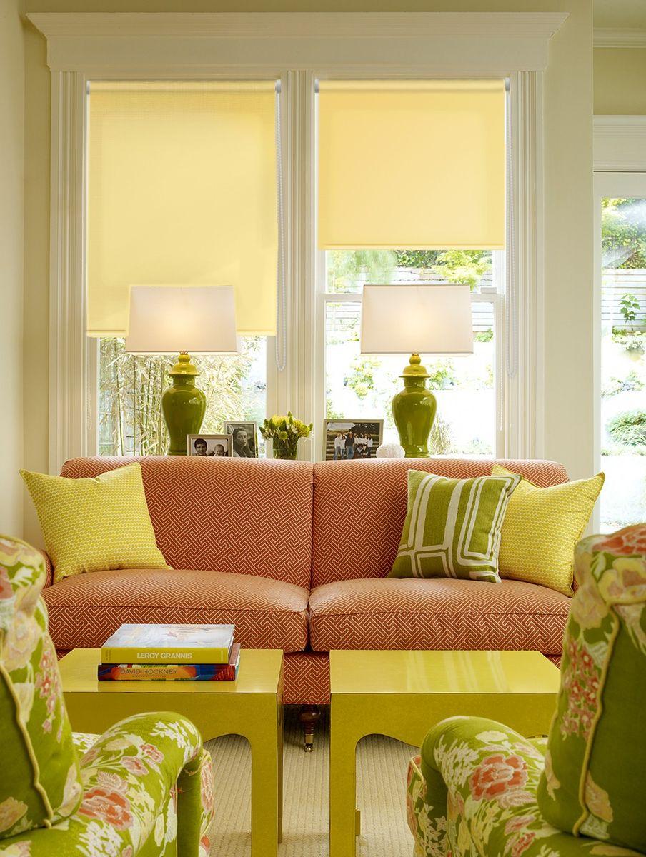 Штора рулонная Эскар Миниролло, цвет: желтый, ширина 115 см, высота 170 см31103115170Рулонными шторами можно оформлять окна как самостоятельно, так и использовать в комбинации с портьерами. Это поможет предотвратить выгорание дорогой ткани на солнце и соединит функционал рулонных с красотой навесных. Преимущества применения рулонных штор для пластиковых окон: - имеют прекрасный внешний вид: многообразие и фактурность материала изделия отлично смотрятся в любом интерьере;- многофункциональны: есть возможность подобрать шторы способные эффективно защитить комнату от солнца, при этом она не будет слишком темной. - Есть возможность осуществить быстрый монтаж.ВНИМАНИЕ! Размеры ширины изделия указаны по ширине ткани! Во время эксплуатации не рекомендуется полностью разматывать рулон, чтобы не оторвать ткань от намоточного вала. В случае загрязнения поверхности ткани, чистку шторы проводят одним из способов, в зависимости от типа загрязнения:легкое поверхностное загрязнение можно удалить при помощи канцелярского ластика;чистка от пыли производится сухим методом при помощи пылесоса с мягкой щеткой-насадкой;для удаления пятна используйте мягкую губку с пенообразующим неагрессивным моющим средством или пятновыводитель на натуральной основе (нельзя применять растворители).
