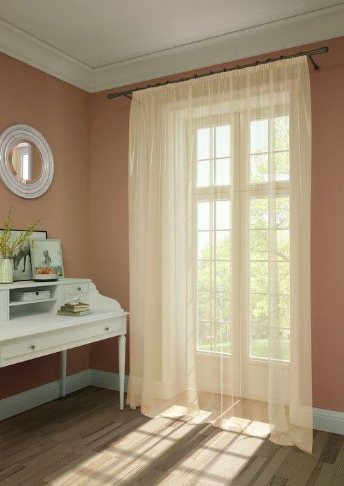 Штора KauffOrt Нелли, на ленте, цвет: бежевый, высота 285 см3111303120Комплектация: 1 Тюль. Материал: Вуаль. Состав: 100% Полиэстер. Цвет: розовато - бежевый. Применение: гостиная, спальня, дача.
