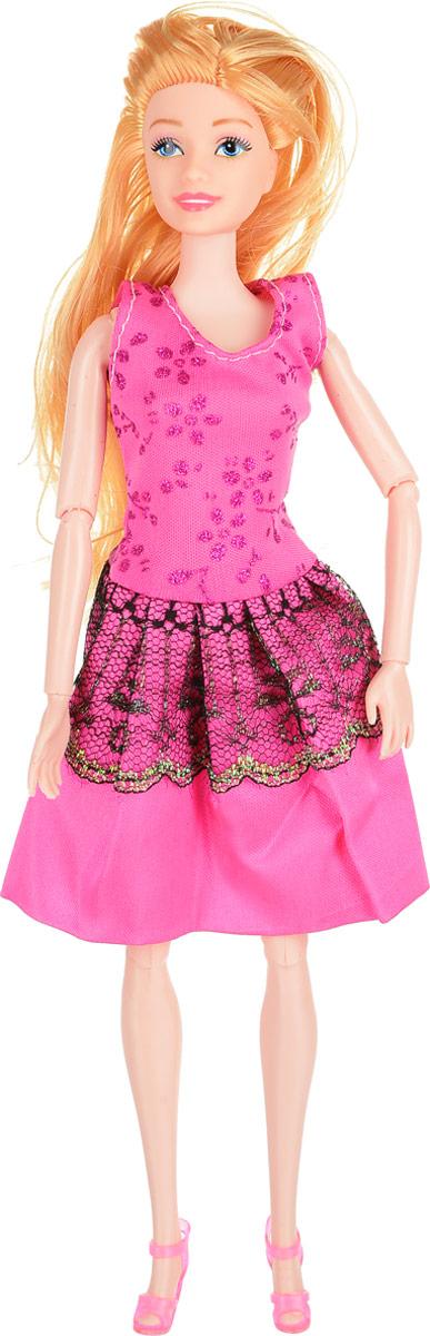 Veld-Co Кукла Модница цвет платья розовый vassa co платья