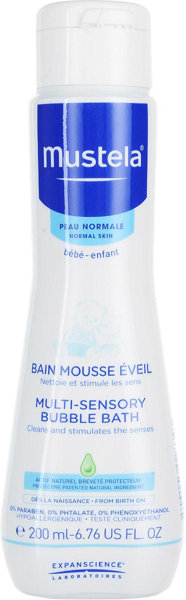Mustela Пена для ванны, 200 млМ224Пена для ванны Mustela разработана для бережного очищения кожи малыша с рождения. Разработано для минимизации риска аллергических реакций.Свойства:Бережно очищает кожу малыша.Текстура пенки, голубой оттенок и нежный аромат помогают развивать чувственное восприятие ребенка.Не щиплет глаза.Приоритет отдается ингредиентам природного происхожденияБиоразлагаемая формула.Преимущества:- Запатентованный ингредиент Avocado Perseose: усиливает кожный барьер и сохраняет клеточные ресурсы кожи- Масло жожоба: восполняет липиды, восстанавливает, надолго увлажняет- Витамины E и F: восстанавливают и поддерживают водный баланс- Масло ши: смягчает, успокаивает и питает эпидермис- Доказанная клиническая эффективность.Товар сертифицированУважаемые клиенты! Обращаем ваше внимание на возможные изменения в дизайне упаковки. Качественные характеристики товара остаются неизменными. Поставка осуществляется в зависимости от наличия на складе.