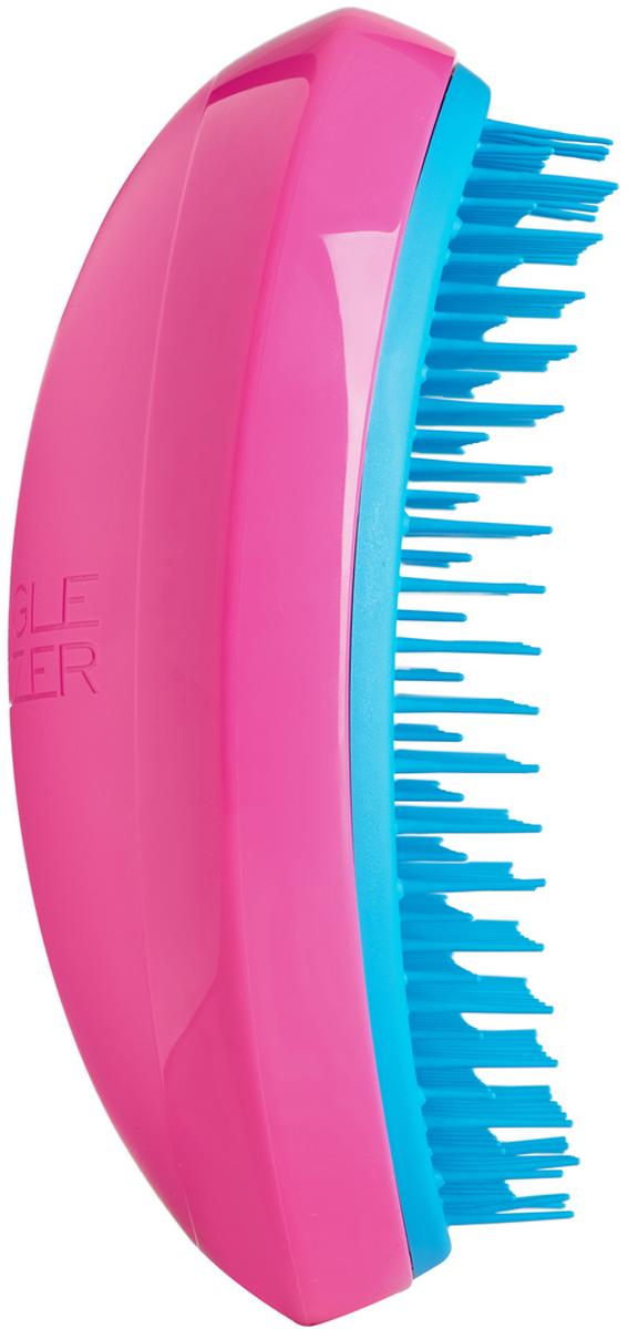 Tangle Teezer Расческа для волос Salon Elite Pink&Blue5060173372590Tangle Teezer – оригинальная профессиональная расческа для расчесывания волос, которая позволит вам с легкостью всего за одну минуту без рывков и напряжения расчесать мокрые, уязвимые или окрашенные волосы, не нарушая структуру волос и не причиняя себе дискомфорта.