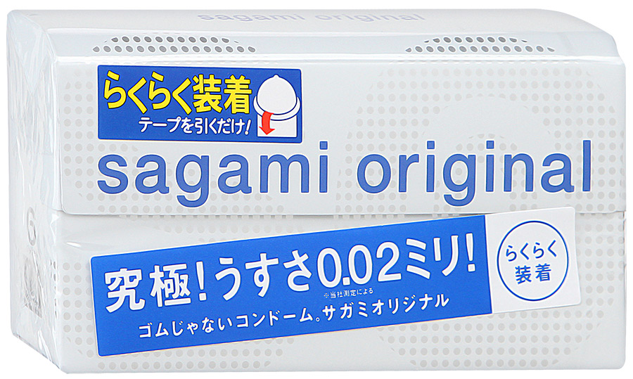 Sagami презервативы Original 002 Quick, 6 шт1001004Особенностью этой модели является наличие специальной ленты для быстрого одевания презерватива, которая значительно облегчает и ускоряет этот процесс. Полиуретановые ультратонкие презервативы (20 микрон=0,02 мм). В 3 раза тоньше, чем обычные латексные презервативы. Отличная теплопроводность - тепло партнера передается, как если бы презерватива вообще не было. Гладкая и прозрачная поверхность - больше натуральности. Полиуретан является биосовместимым материалом и идеально подходит в случае аллергии на латекс. В отличие от латекса, полиуретан не имеет специфического запаха.