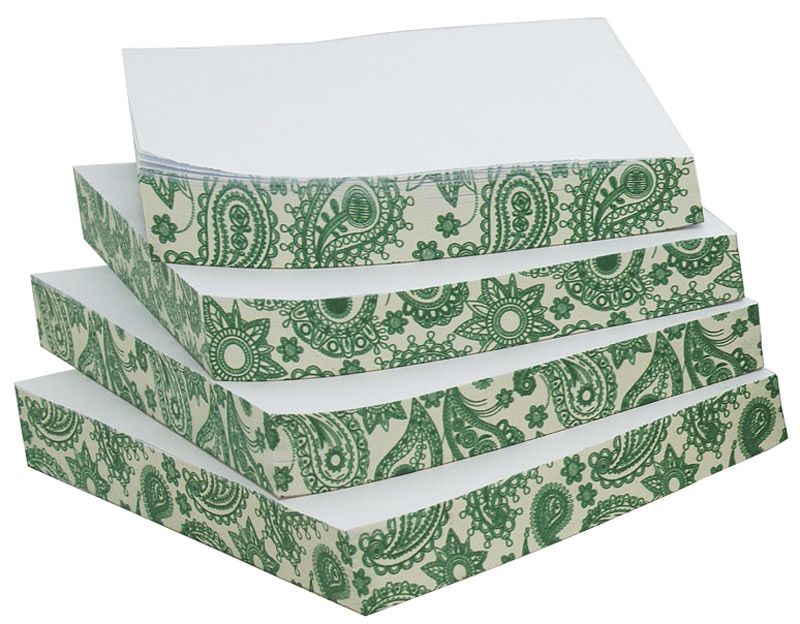Фолиант Комплект блоков для записей Русские напевы 13 х 13 см 4 блока по 200 листов -