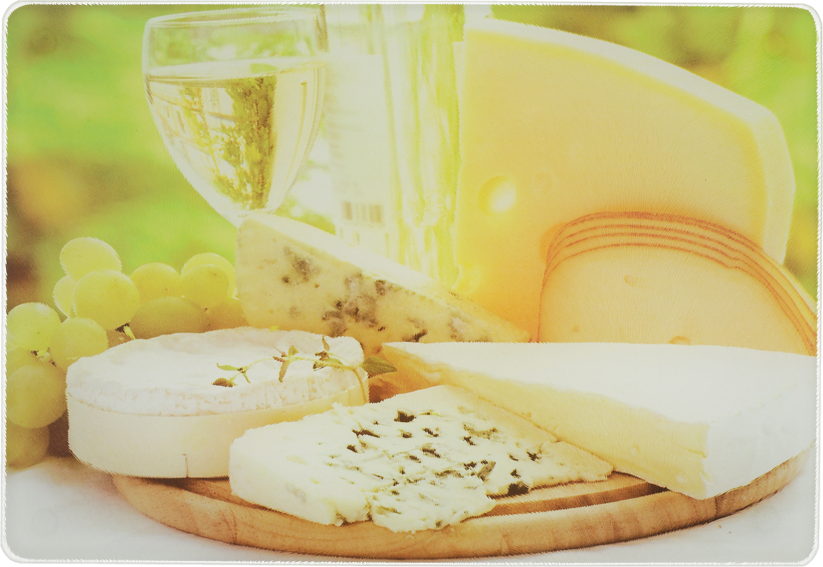 Доска разделочная Mayer & Boch Сыр, 20 х 30 см23301_сыр_2Разделочная доска Mayer & Boch Сыр, выполненная из высококачественного стекла, устойчива к повреждениям и не впитывает запахи. Она идеально подходит для разделки мяса, рыбы, приготовления теста и для нарезки любых продуктов. Гладкая поверхность предотвратит появление разводов, царапин и появление бактерий. Изделие оснащено силиконовыми ножками для предотвращения скольжения.Разделочная доска Mayer & Boch Сыр станет незаменимым аксессуаром на любой кухне.