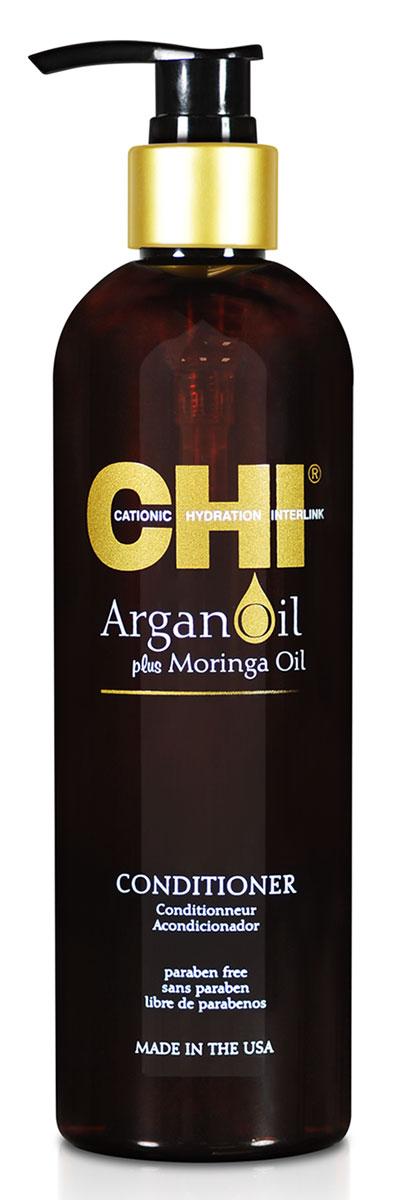 CHI Кондиционер Argan Oil, 355 мл chi масло для волос argan oil 89 мл