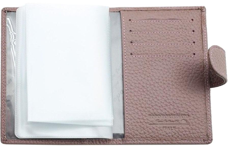 Обложка для автодокументовженская Topo Fortunato, цвет: сиреневый. TF 109-092TF 109-092