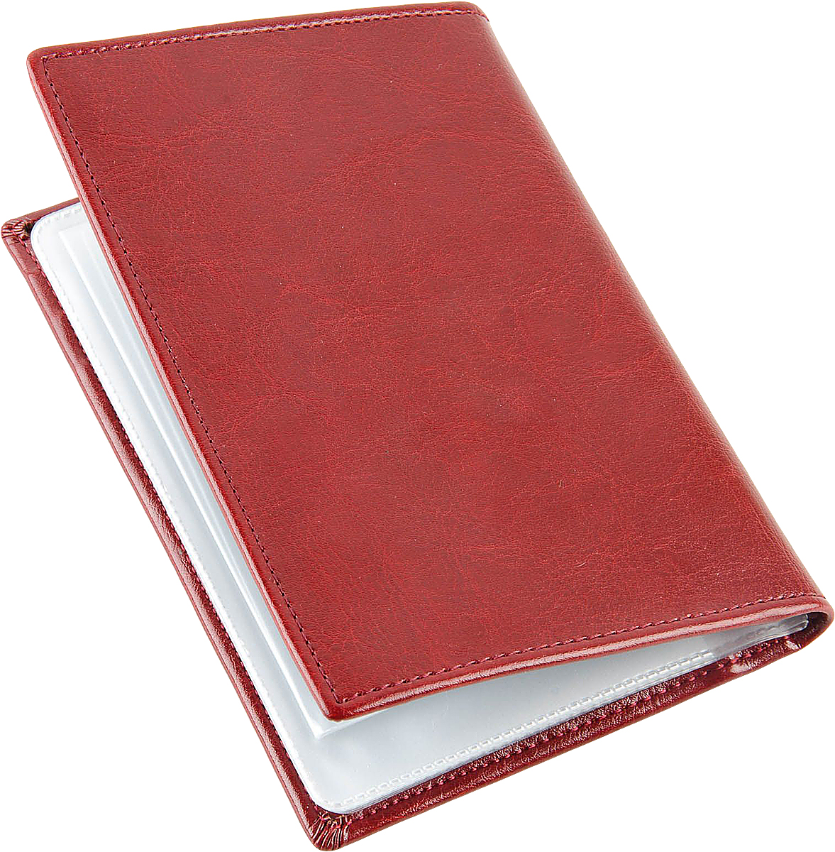 Обложка для автодокументов женская Topo Fortunato, цвет: бордовый. TF 223-092АTF 223-092АОбложка на автодокументы натуральная кожа