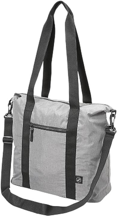 Сумка спортивная Asics Training Handbag, цвет: серый146810-0714Спортивная форма, снаряжение и все, что может потребоваться на тренировке или матче, поместится в одной сумке. Объем основного отделения составляет 45литров. Сумка выполнена из долговечного и не пропускающего влагу материала, так что ее можно спокойно оставить даже на мокром поле.