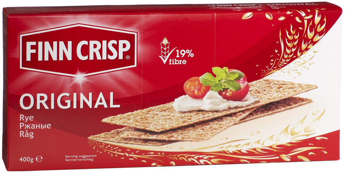 Finn Crisp Original хлебцы ржаные, 400 г20128В 1952 году началось производство сухариков FINN CRISP (ФИНН КРИСП), когда стартовали Олимпийские Игры в Хельсинки (Финляндия).Многие годы натуральные ржаные сухарики FINN CRISP отражают дух Финляндии для миллионов покупателей по всему миру, заботящихся о здоровом питании. Высушивать хлеб - давняя финская традиция и FINN CRISP до сих пор придерживаются этой традиции создавая хлебцы по старому классическому финскому рецепту.Бренд FINN CRISP принадлежит компании VAASAN Group's.VAASAN - это крупнейшая хлебопекарная компания в Балтийском регионе со столетней историей, занимающаяся производством продукции для правильного и здорового питания. Занимающая второе место по производству сухариков и хлебцев, а её продукция экспортируются в более чем 50 государств!Уважаемые клиенты! Обращаем ваше внимание на то, что упаковка может иметь несколько видов дизайна. Поставка осуществляется в зависимости от наличия на складе.