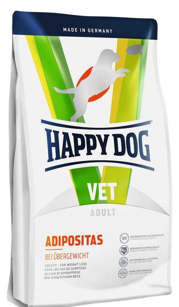 Корм сухой Happy Dog Adipositas для собак с избыточным весом, 1 кг60351Happy Dog Vet Diet Adipositas,применяется для снижения избыточного веса. Это диетический корм отличается значительно уменьшенным содержанием калорий и углеводов. Корм богат высококачественным белком и питательными балластными веществами. Особая рецептура создает оптимальные условия для бережного снижения веса. Это корм эффективно поддерживает и улучшает физическую форму собаки. Розмарин и имбирь, входящие в состав формулыNatural Life Concept,традиционно используются в качестве добавок, активирующих обмен веществ.