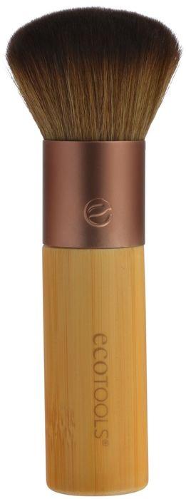 EcoTools Кисть для бронзера Domed Bronzer1229MЗакругленная маленькая кисть обеспечивает мягкое иточное нанесение бронзера. Изготовленаиз мягкого ворса, перерабатываемого алюминия и бамбуковой ручки.