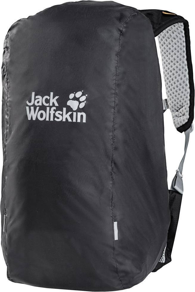 Чехол для рюкзака Jack Wolfskin Raincover 20-30L, от дождя, цвет: темно-серый. 8002731-63508002731-6350Небольшой водонепроницаемый чехол для рюкзака. В пути под проливным дождем? С непромокаемым чехлом для рюкзака Raincover (Рэйнкавер) это не проблема. Этот размер подходит для рюкзаков объемом 20-30 литров. Он не закрывает доступ к системе подвески рюкзака, а надевается и регулируется по размеру с помощью затяжного шнура. Когда в нем нет необходимости, он компактно хранится в собственном компактном чехле.