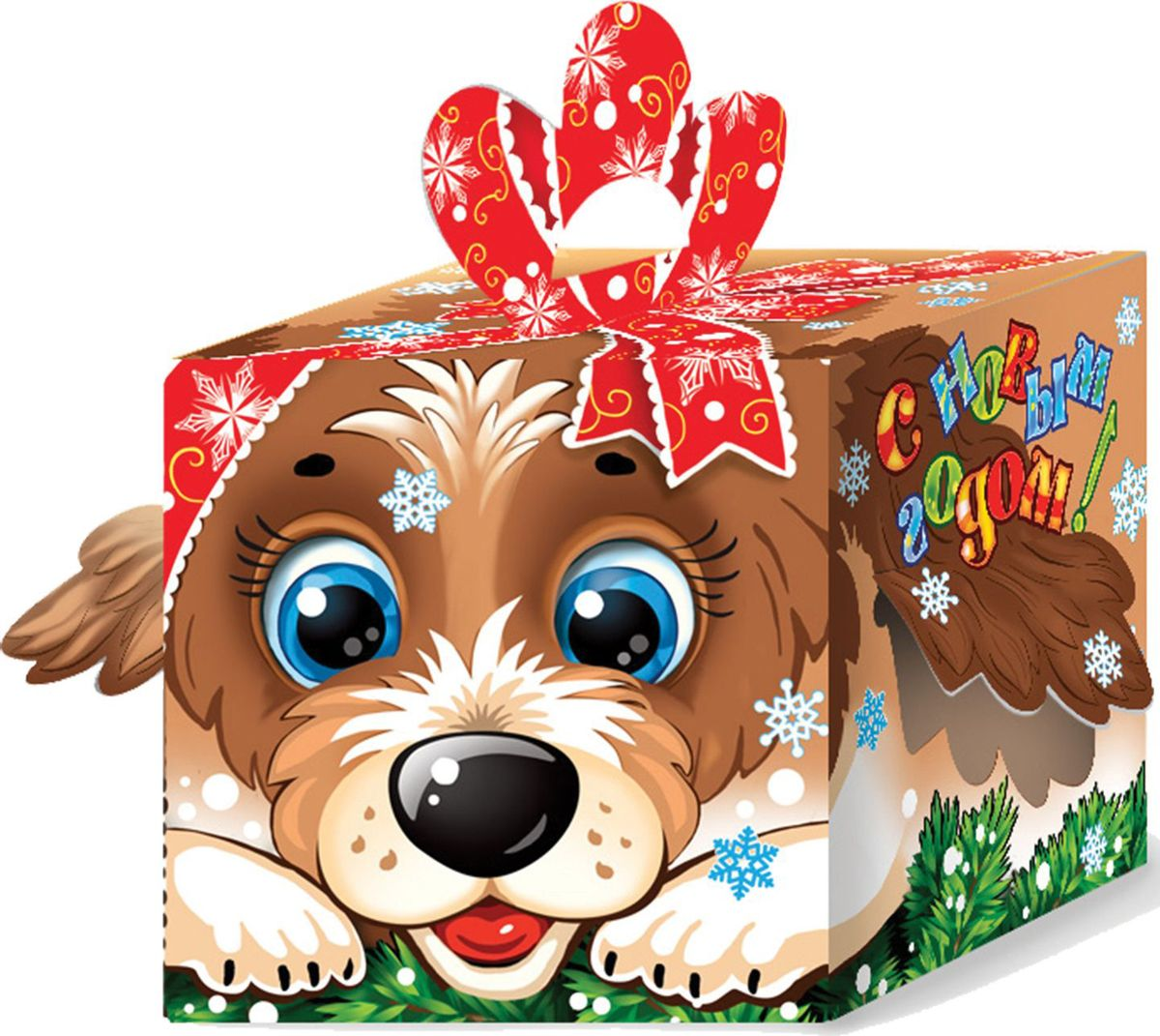 Сладкий новогодний подарок Пес Шарик, 300 г1529Новогодние подарки в картонной упаковке считаются самыми популярными для поздравления детей в детских садах и школах, и с каждым годом остаются лидерами продаж. Сладкий Новогодний подарок  Пес Шарик  300 гр. очарует любого малыша своей яркой, разноцветной упаковкой, а прекрасно подобранный состав кондитерских изделий от самых известных производителей позволит в полной мере насладиться праздником. Прекрасный вариант поздравления детей на утренниках в детских садах и школах.Уважаемые клиенты! Обращаем ваше внимание на возможные изменения в дизайне упаковки. Качественные характеристики товара остаются неизменными. Поставка осуществляется в зависимости от наличия на складе.