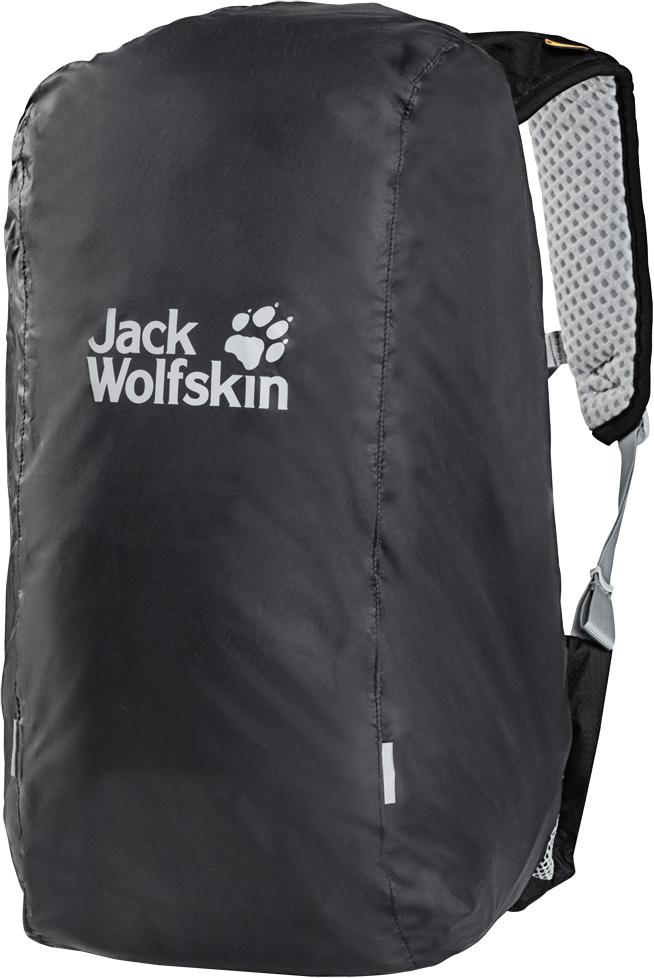 Чехол для рюкзака Jack Wolfskin Raincover 30-40L, от дождя, цвет: темно-серый. 8002721-63508002721-6350Непромокаемый чехол среднего размера для рюкзаков вместимостью 30-40 литров. Водонепроницаемый чехол Raincover (Рэйнкавер) сохранит ваши вещи в сухости, если вдруг в походе вас настигнет дождь. Этот размер чехла подходит для рюкзаков объемом 30-40 литров.Чехол легко и быстро надевается. Просто натяните его на рюкзак и отрегулируйте по размеру с помощью шнура. Чехол не мешает регулировать подвесную систему рюкзака. Продолжайте путь, несмотря на дождь! При необходимости, чехол можно компактно упаковать в специальный карман.
