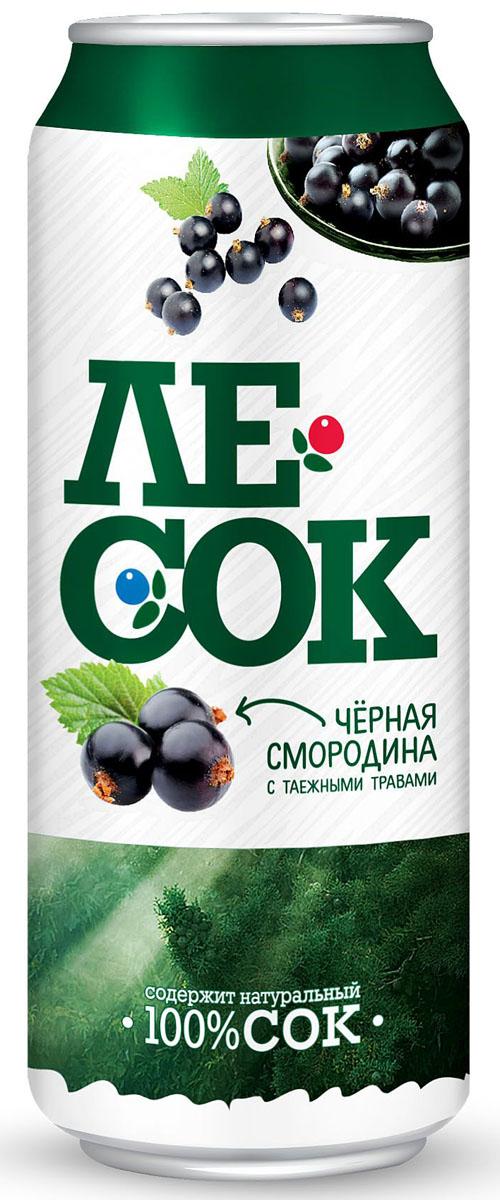 ЛеСок Черная смородина газированый напиток, 0,5 л4601373004341Вкус кисло-сладкий, аромат таежных трав с нотами черной смородины.