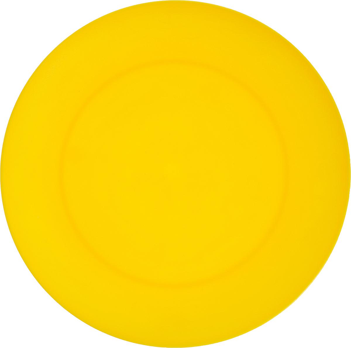 Тарелка Gotoff, цвет: желтый, диаметр 20,3 смWTC-271_желтыйТарелка Gotoff изготовлена из цветного пищевого полипропилена и предназначена для холодной и горячей пищи. Выдерживает температурный режим в пределах от -25°С до +110°C. Посуду из пластика можно использовать в микроволновой печи, но необходимо, чтобы нагрев не превышал максимально допустимую температуру. Удобная, легкая и практичная посуда для пикника и дачи поможет сервировать стол без хлопот!Диаметр тарелки (по верхнему краю): 20,3 см. Высота тарелки: 2 см.