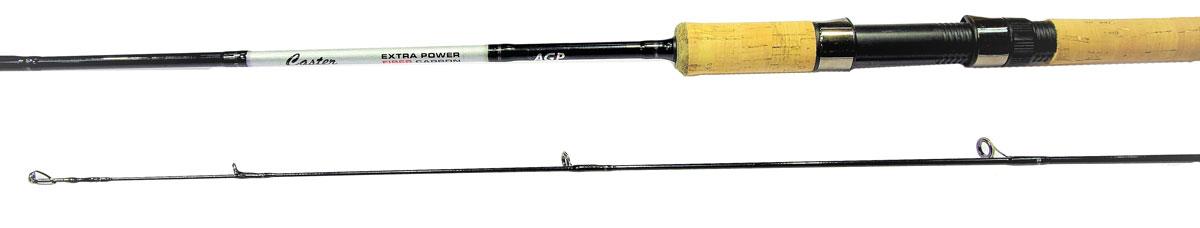 Удилище спининговое Caster XP 802MH, штекерное, цвет: черный, 2,44 м, 12-40 г2218489