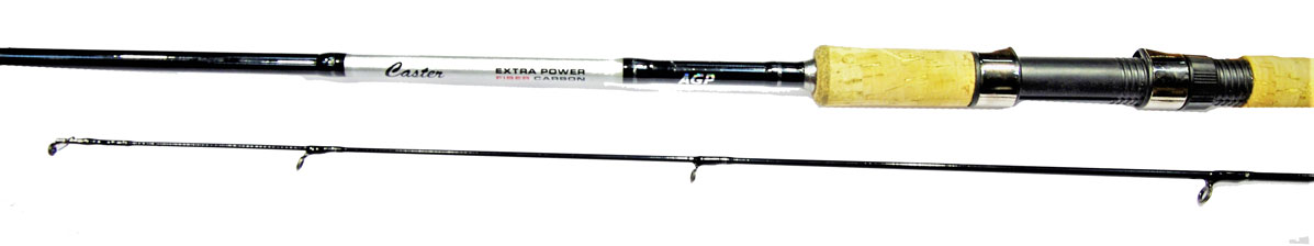 Удилище спининговое Caster XP 702L, штекерное, цвет: черный, 2,13 м, 3-16 г2218491