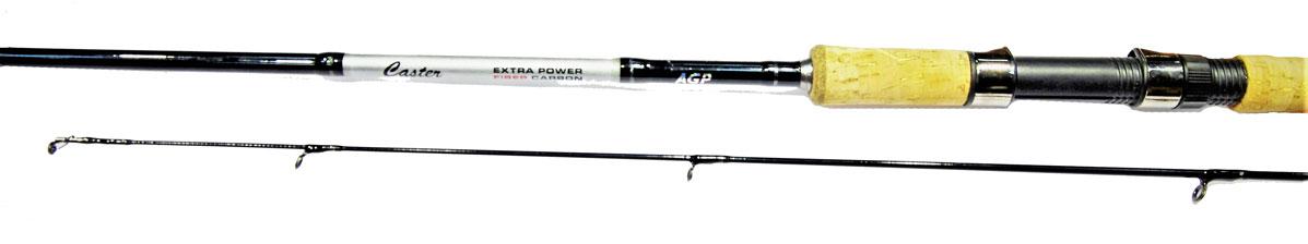 Удилище спининговое Caster XP 602UL, штекерное, цвет: черный, 1,82 м, 2-10 г2228222