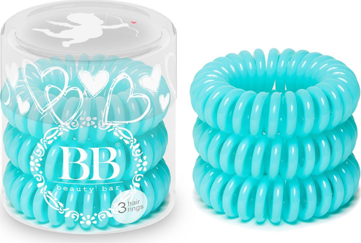 Резинка для волос Beauty Bar, цвет: тифанни резинка спиралька для волос
