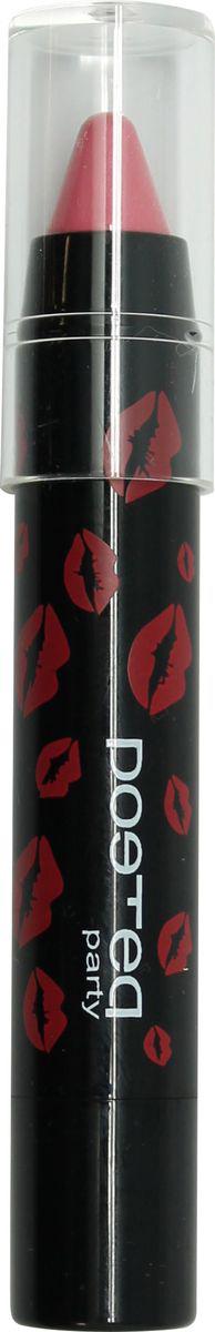 Poeteq Party Карандаш-блеск для губ, тон №53, 4,2 г2653PБлеск-карандаш Роетеа Раrty - это яркие, сочные губки, которые всегда выглядят соблазнительно и готовы к самым жарким вечеринкам. Новая форма помады-блеска для губ в виде карандаша компактна, удобна в использовании, легко и точно наносится, не растекается и не дает на губах ощущения липкости. Блеск-карандаш Роетеа Раrty создает легкое глянцевое, яркое покрытие с эффектом влажных губ, идеально прокрашивает и одновременно придает губам мягкость, увлажняет их и защищает из обветривания. Солнце, ветер, морские брызги не страшны нежным губам, если они покрыты защитным блеском Роетеа Раrty! Формула содержит растительные воски и масла, которые обеспечивают губам отличное питание и защиту.