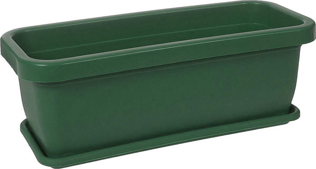 Ящик для цветов Альтернатива, 36 х 15 х 13 см1054872Любой, даже самый современный и продуманный интерьер будет не завершённым без растений. Они не только очищают воздух и насыщают его кислородом, но и заметно украшают окружающее пространство. Такому полезному &laquo члену семьи&raquoпросто необходимо красивое и функциональное кашпо, оригинальный горшок или необычная ваза! Мы предлагаем - Ящик для цветов 36х15х13 см!Оптимальный выбор материала &mdash &nbsp пластмасса! Почему мы так считаем? Малый вес. С лёгкостью переносите горшки и кашпо с места на место, ставьте их на столики или полки, подвешивайте под потолок, не беспокоясь о нагрузке. Простота ухода. Пластиковые изделия не нуждаются в специальных условиях хранения. Их&nbsp легко чистить &mdashдостаточно просто сполоснуть тёплой водой. Никаких царапин. Пластиковые кашпо не царапают и не загрязняют поверхности, на которых стоят. Пластик дольше хранит влагу, а значит &mdashрастение реже нуждается в поливе. Пластмасса не пропускает воздух &mdashкорневой системе растения не грозят резкие перепады температур. Огромный выбор форм, декора и расцветок &mdashвы без труда подберёте что-то, что идеально впишется в уже существующий интерьер.Соблюдая нехитрые правила ухода, вы можете заметно продлить срок службы горшков, вазонов и кашпо из пластика: всегда учитывайте размер кроны и корневой системы растения (при разрастании большое растение способно повредить маленький горшок)берегите изделие от воздействия прямых солнечных лучей, чтобы кашпо и горшки не выцветалидержите кашпо и горшки из пластика подальше от нагревающихся поверхностей.Создавайте прекрасные цветочные композиции, выращивайте рассаду или необычные растения, а низкие цены позволят вам не ограничивать себя в выборе.