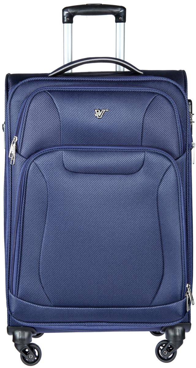 Чемодан-тележка Verage, цвет: синий, 66 л. GM16033w24GM16033w24 navyЗакрывается по периметру на двухстороннюю молнию, оснащён верхней и боковой ручкой, четырьмя колесиками 360°, внутри один отдел для одежды, один карман на молнии, одна техническая молния с бегунком, снаружи на передней стенке два карман на молнии, возможность увеличения чемодана на 20% (за счет молнии), встроенный кодовый замок TSA, максимальная высота выдвижной ручки 48 см, объем 66 л, внутрений размер 55-41-22 см, вес 3,5 кг