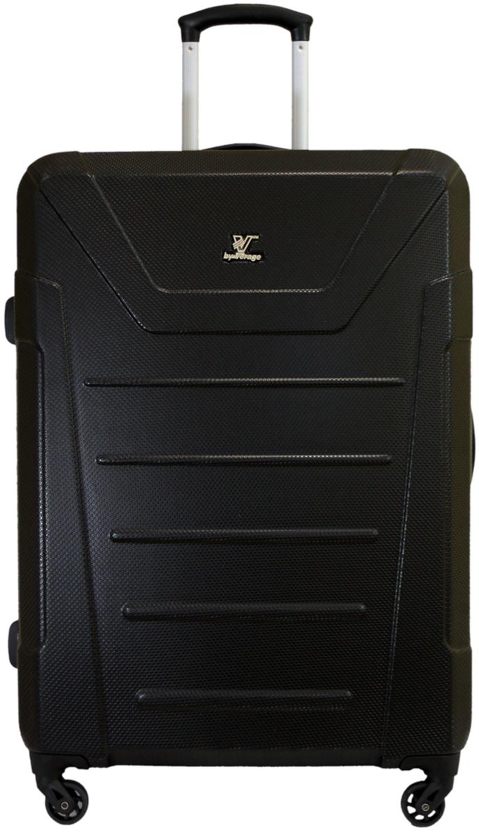 Чемодан-тележка Verage, цвет: черный, 95 л. GM16036w28GM16036w28 blackзакрывается по периметру на двухстороннюю молниюоснащён верхней ручкой, четырьмя колесиками 360°внутри один отдел для одеждыодин сетчатый карман на молниидве технических молнии с бегункомвстроенный кодовый замок максимальная высота выдвижной ручки 40 смобъем 95 лвнутрений размер 70-50-27 смвес 4,3 кг