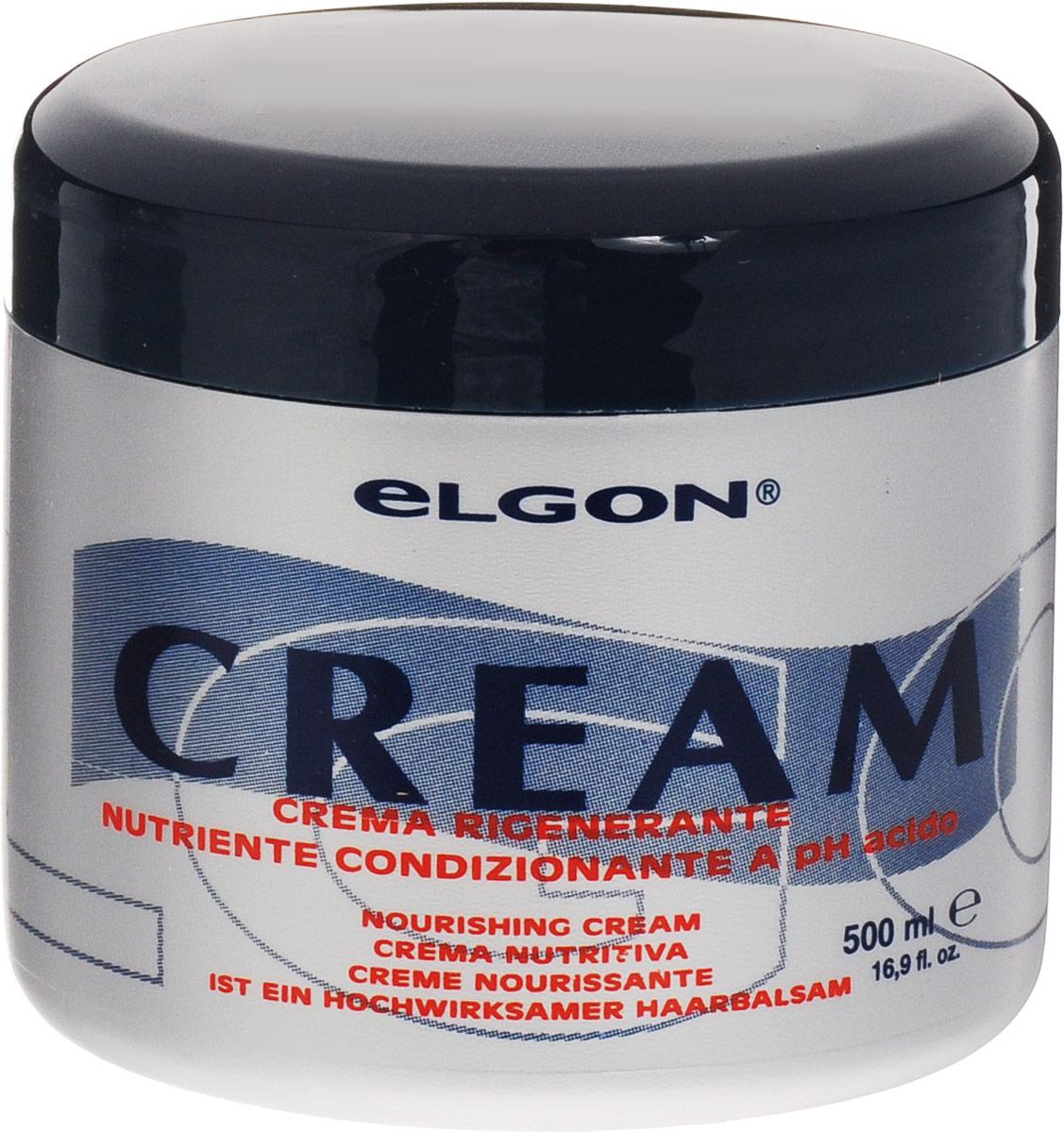 Elgon Shampoos&Mask Крем-кондиционер для волос Crema Rigenerante, 500 мл1001010500Крем-кондиционер для интенсивного увлажнения и питания волос Elgon Crema Rigenerante подходит для кондиционирования всех типов волос, особенно поврежденных и пористых. Идеальное средство после Luminoil. Обволакивает волосы незаметной защитной пленкой. Для максимальной гладкости и блеска. Облегчает расчесывание и дальнейшую работу с волосами.Товар сертифицирован.